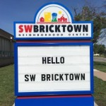 SW Bricktown Sign
